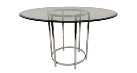 Tables With Metal Bases. Glass Top Table Bases
